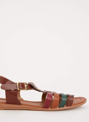 DeFacto Tokalı Sandalet Renkli